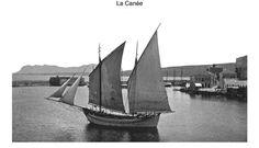 Χανιά. 1900 περίπου. Φωτογραφικό Αρχείο του συνταγματάρχη Émile Honoré Destelle. Δημοσίευση Ελένης Σημαντήρη. Occupation, Sailing Ships, Greek, Boat, Memories, History, Memoirs, Dinghy, Souvenirs