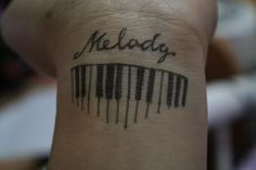 piano tattoos - Google Search
