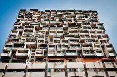 citylandscapes: Apartment building in Kuala Lumpur Source: haerski (reddit)