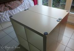 Aménager son atelier (1) : la table de découpe [Tuto inside] - Le Temps de Vivre... Coin Couture, Good Job, Future House, Ikea, Diy, Room, Furniture, Design, Home Decor