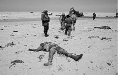 International coalition forces kill Iraqi troops fleeing Kuwait in 1991, not this a war crime?