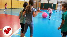 Pohybová hra pre deti so 4 veľkosťami lôpt
