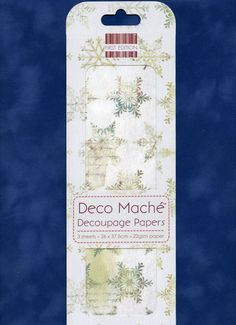 Snowflake DECOUPAGE PAPER, Winter Decoupage Paper, Christmas Decoupage Paper, Decoupage Papers, Deco Mache, Distressed Decoupage Papers by OneDayLongAgo on Etsy