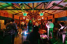 Two Three Ways wedding band at Goldbug Island wedding reception.  photography by: lindseyamiller.com