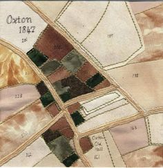 The Oxton Art Fair 2013 - The annual Oxton Art Fair is a wonderful showcase of art, craft and design from local artists within four of . Map Quilt, Quilts, Patchwork Quilting, Embroidery Map, Collage Art Mixed Media, Aboriginal Art, Textile Artists, Art Fair, Fiber Art