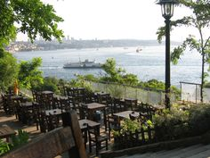 Gulhane Parki, Istanbul. Best spot with a view to relax and have a Turkish tea