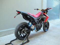 Honda CRF 250L sumo conversion project