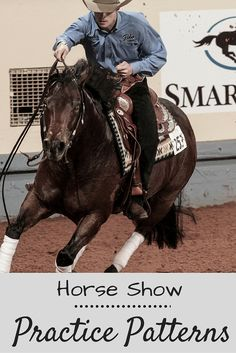 Sharpen your horse show skills with these practice patterns from AQHA.
