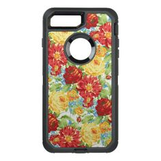 Cute Floral pattern iPhone 7 plus otterbox
