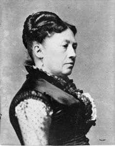 Julia Grant A portrait of First Lady Julia Dent Grant, wife of President Ulysses S. Grant