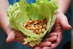 Chicken Soong in Lettuce Wrap | www.tasteandtellblog.com