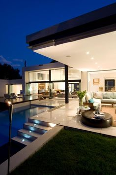 Modern house designed to perfection.
