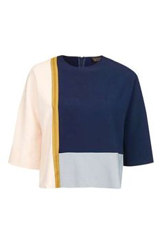 Colour Block Sweatshirt- I love the color blocking, but wish it were longer.