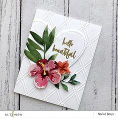 Cluster Flower Borde Cut Die Metal Cutting Dies Scrapbook Embossing Paper Craft