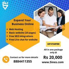 Business Sales, Online Business, Basic Website, Online Web, Professional Website, Seo Company, Seo Services, Startups, Get Started