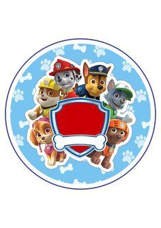 Paw Patrol Badge, Paw Patrol Party, Paw Patrol Birthday, Prince Birthday Party, Birthday Parties, Escudo Paw Patrol, Imprimibles Paw Patrol, Paw Patrol Decorations, Cumple Paw Patrol