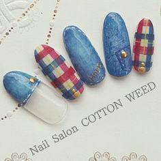 Pastel Nails, Acrylic Nails, Gel Nails, Plaid Nails, Bling Nails, Cool Nail Designs, Salons, Hair Beauty, Beautiful