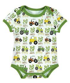 Look at this #zulilyfind! Tractor Bodysuit - Infant #zulilyfinds
