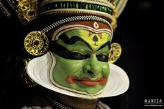 If you are in Kerala and don't see #Kathakali, than your visit is just incomplete & not really worthy. I was lucky enough to click pictures when artists were getting ready for the play.
