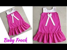 Frocks, Line, Sewing Patterns, Stitching, Summer Dresses, Children, Youtube, Baby, Style