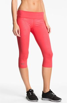 Under Armour Sonic Capri Pants...I have these in black and I pretty much freaking love them!