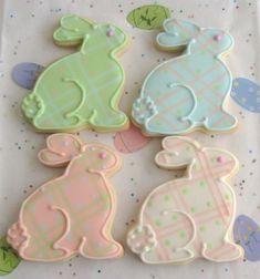 Bunny Cookies  Easter Cookies