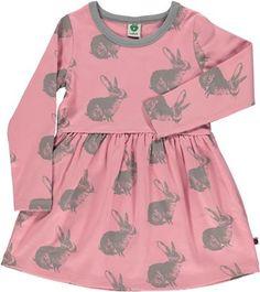 Kjole med kanin