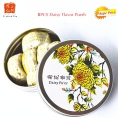 Mini daisy flaovr Chinese Puer Tea tuo cha tea yunnan shu tuo cha cooked ripe puerh tea for lose weight