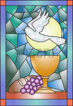 Resultado de imagen para vitrales para comunion