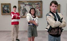 Ferris Bueller's Day Off, de John Hughes en el Art Institute de Chicago High School Movies, 80s Movies, Great Movies, Movie Tv, Awesome Movies, Movie Scene, Iconic Movies, Movie List, Classic Movies