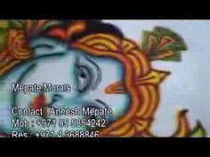 mepate murals (kerala style mural painting on fabric)  #kerala_Murals