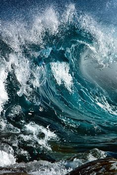Dec 2019 - Water, Waves and the ocean. Only the beauty of wind and water. because we love salty water & stormy sea. See more ideas about Ocean, Waves and Water. No Wave, Water Waves, Sea Waves, Sea And Ocean, Ocean Beach, Ocean Sunset, All Nature, Amazing Nature, Ocean Life