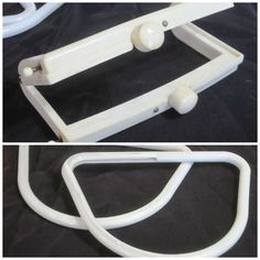 Vintage Lucite Purse Frame & Hobo Handles Circa by linbot1 on Etsy, $30.00