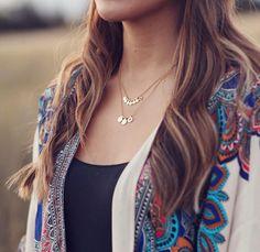 EMELLi jewellery Seven Chakras and Mind, Body & Spirit necklaces.  www.emelli.co