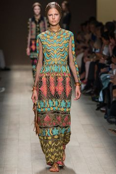 Valentino | Spring 2014 Ready-to-Wear Collection - pastels, ethnic