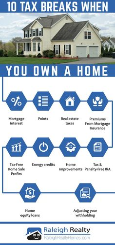 10 Tax Breaks When You Own A Home Infographic – If you're searching for information on tax benefits of owning a home you will want to check out this article! We go over 10 great ways to save money on taxes by using your home to maximize tax deductions! Buying First Home, Home Buying Tips, Home Buying Process, First Time Home Buyers, Ideas Para Organizar, Sell Your House Fast, Pause, Real Estate Tips, Home Ownership