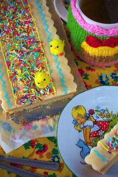 Mazurek z Marcepanem - Ciasta Wielkanocne
