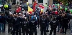 Tag der Deutschen Einheit Dresdner Polizei rechtfertigt sich - Ruhr Nachrichten