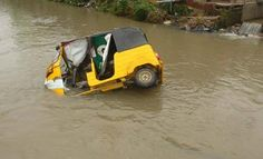 A Keke Marwa trapped in a flooded area  Lagos State Government on Sunday urged residents to remain calm and vigilant in the wake of the torrential rain experienced in the State in the last few days. States Commissioner for the Environment Dr. Babatunde Adejare who spoke after inspecting areas affected by the flood in the State allayed fears of residents assuring that the Government has activated its emergency response system to respond efficiently where necessary. He said most of the…