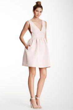 Jill Stuart Metallic Print Dress
