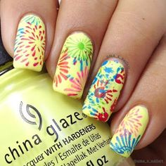Holi Nails 2016.. | Uma's Nail Art | Bloglovin'