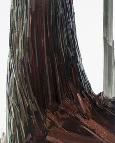Tree, Öl auf Leinwand, 2013 - Claire Sherman