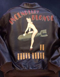 Hand painted flying jackets
