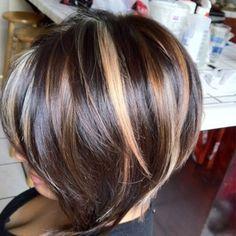 Regia dark brown y rayos ash blond y caramel | Yelp