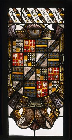 This is one of a series of coats of arms relating the Beaupré family history. It is thought to have been commissioned by Sir Robert Bell for Beaupré Hall, the family's ancestral home near Wisbech, Cambridgeshire. Bell married Dorothy, the sole heiress of the Beaupré line, in 1559 and succeeded to the Beaupré estate following his father-in-law's death. C.1570.