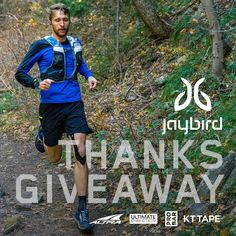 Enter Jaybird's ThanksGiveaway contest to win some awesome gear for the runner in your life!