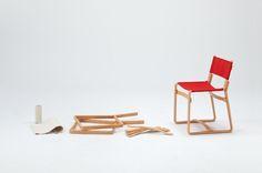 Tendo Mokko: Coshell Chair