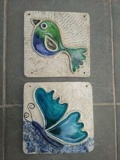 Ceramic Wall Art, Pottery Tools, Ceramic Jewelry, Air Dry Clay, Clay Art, Tiles, Sculptures, Creations, Decoration