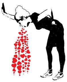 Banksy Love Sick | Lovesick - Banksy on Behance