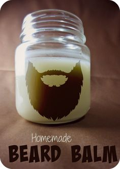 Beard balm works as a moisturizer, conditioner, and styling aid, plus it smells incredible. Here is the recipe for this natural, homemade beard balm. ¼ c coconut oil c shea butter 1 tbsp beeswax 10 drops essential oils Diy Cosmetic, Belleza Diy, Salud Natural, Beard Balm, Beard Soap, Homemade Beauty Products, Home Made Soap, Hair And Beard Styles, Diy Beauty